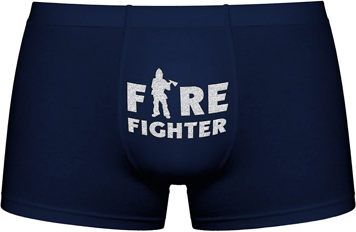Cool Boxer briefs | Firefighter | Innovative gift. Birthday present. Novelty item. A Christmas gift Kornev GmbH M_CA_men_en00348_dark_XXL