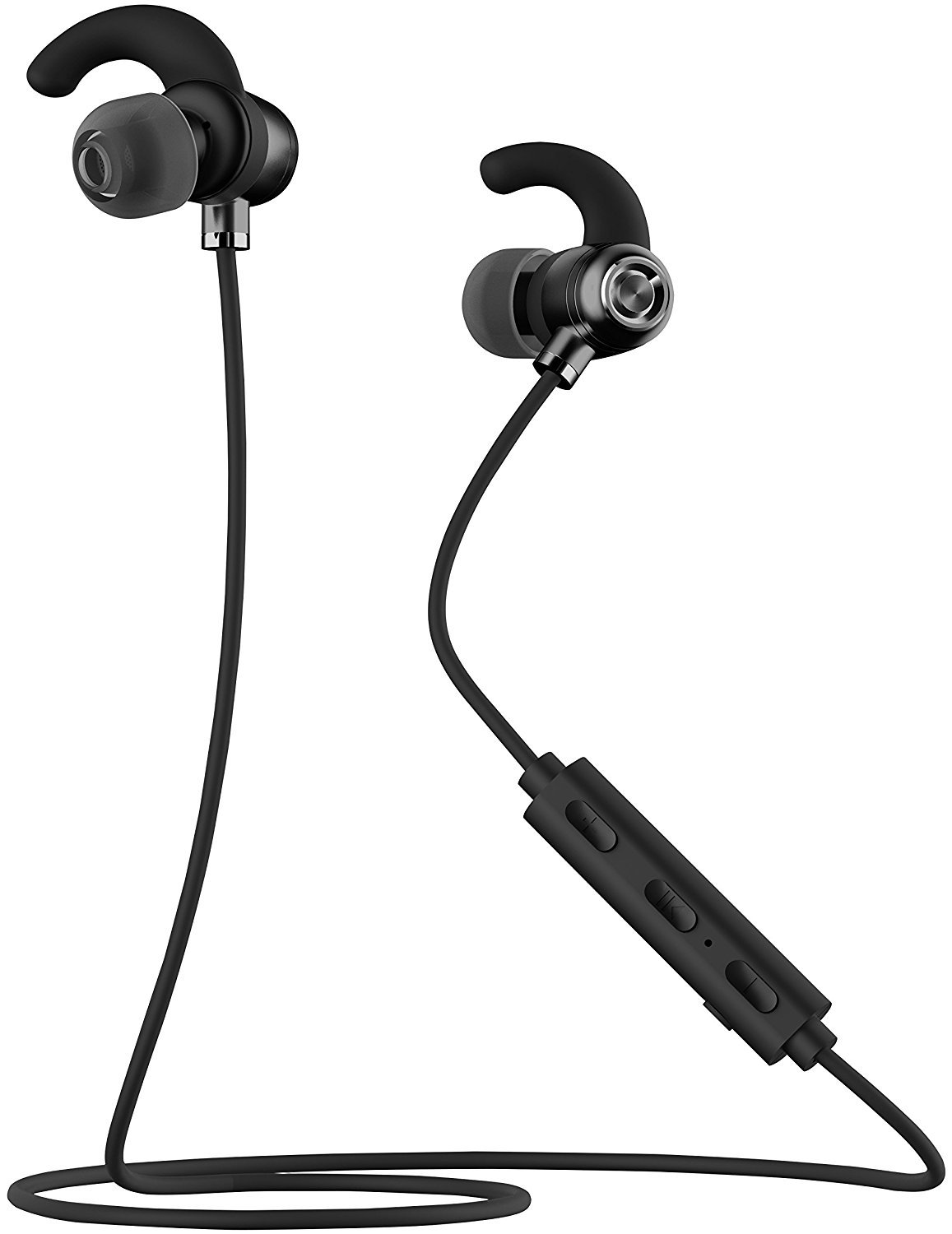 truwire Samsung Galaxy Core Plus Bluetooth Headset in-Ear Running Earbuds IPX4 Waterproof with Mic Stereo Earphones, CVC 6.0 Noise Cancellation, Works with, Apple, Samsung,Google Pixel,LG by truwire (Image #1)