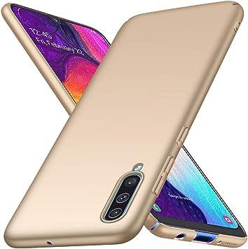 Richgle Funda Samsung Galaxy A70 / Galaxy A70S, Oro Ultra Slim ...