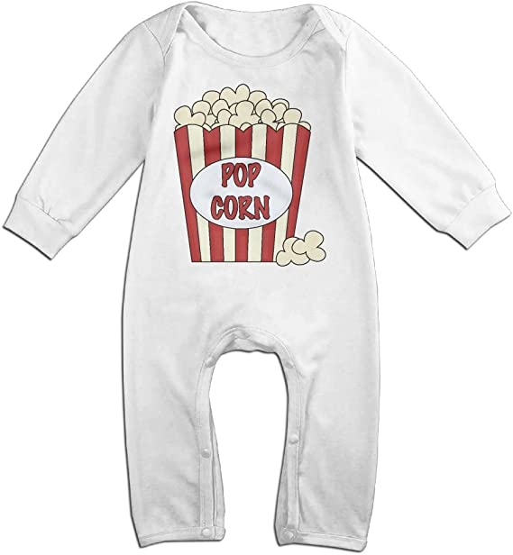 Mri-le1 Baby Girl Organic Coverall Horse White Kid Pajamas