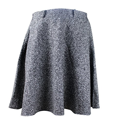 eYourlife2012 Womens Winter Fall Soft Wool Woolen Expansion Fishtail Mermaid Midi Skirt Skirts (Wool Soft Skirt)