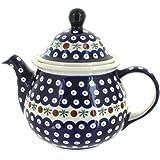 Polish Pottery Nature Large Teapot