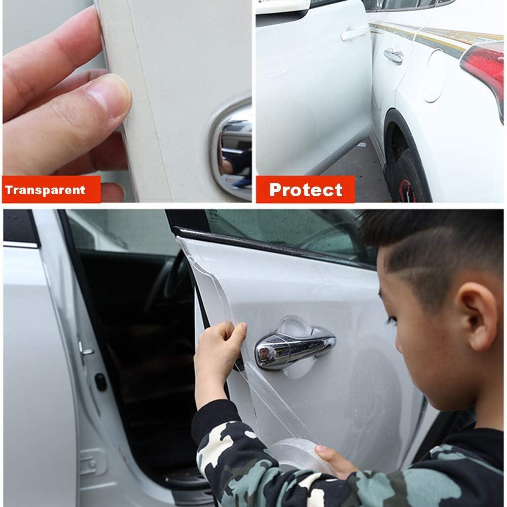 SEAMETAL Car Door Edge Guards Clear,Door Entry Guards Scratch Cover,Transparent Car Door Edge Guards 32ft 1.9in