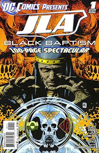 JLA: Black Baptism #TPB 1 VF/NM ; DC comic book