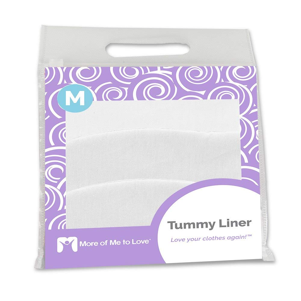 Cotton Tummy Liner (3-Pack, Medium, White) by More of Me to Love (Image #7)