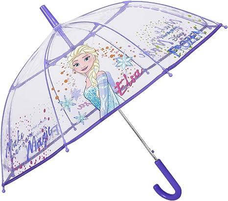 PERLETTI Transparent Kuppel-Schirm Stockschirm Regenschirm Schirm