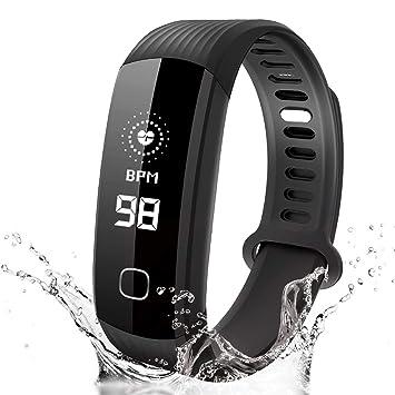 Pulsera inteligente con tipos de reloj de tiempo homestec monitor de  presión arterial health jpg 355x355 980ef402601b