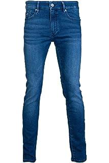 6cf562fa9173 BOSS Skinny-Fit Jeans Charleston BC Mixed aus Super-Stretch Denim Farbe  blau 429