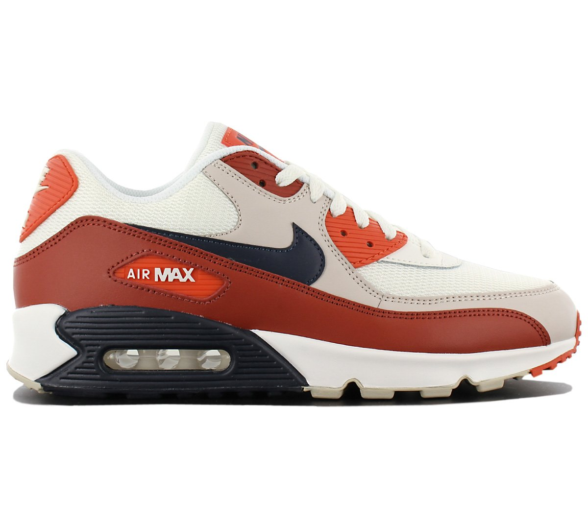 Nike Men's Air Max 90 Essential Running Shoes, Multicolor