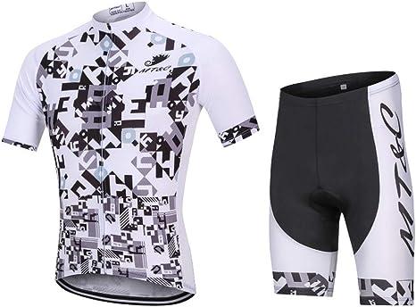BUY-TO Camisas de Ciclismo Camisa de Bicicleta de Secado rápido Transpirable de Secado rápido y Transpirable, Camisa de Bicicleta con Pantalones Cortos Acolchados en 3D: Amazon.es: Deportes y aire libre