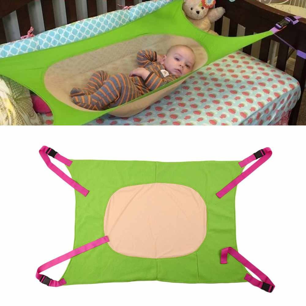Infant Safety Baby Hammock Print Newborn Children's Detachable Furniture Portable Bed Indoor Outdoor Hanging Seat Garden Swing (Colour 3) Star Star