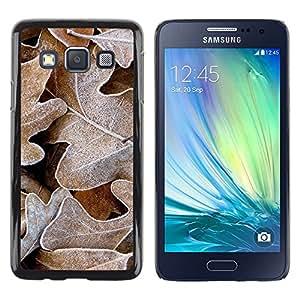 iKiki Tech / Estuche rígido - Winter Frost Autumn Alaska Fall - Samsung Galaxy A3 SM-A300