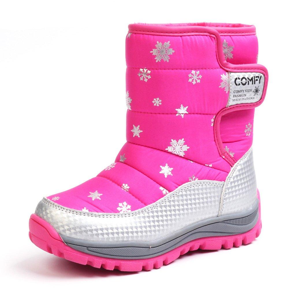 Chiximaxu Kid Waterproof Snow Boots Outdoor Winter Shoes CB-1740