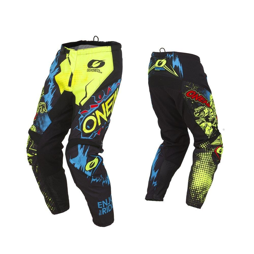 ONeal Mens Element Villian Pant Yellow 30