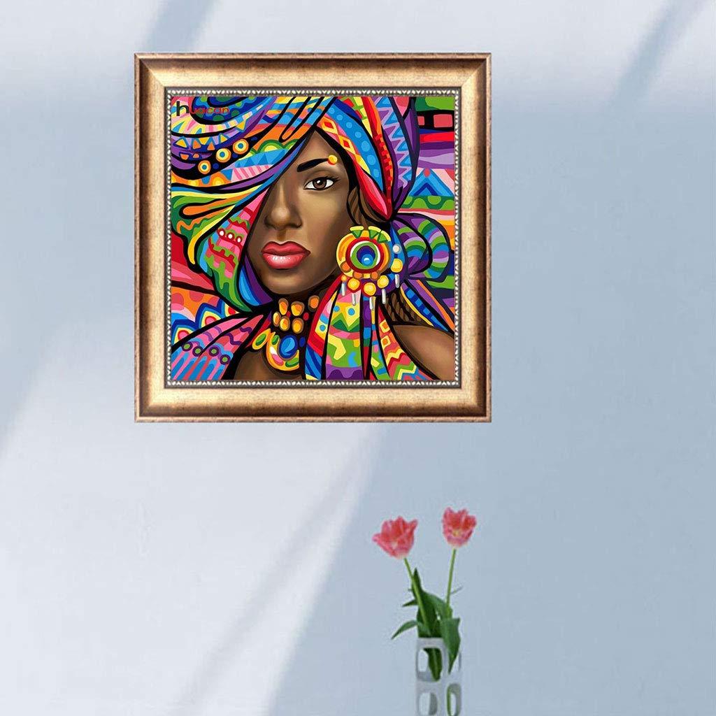 dormitorio 5D Diamante kit de pintura para decoraci/ón de casa Mujer gitana MIsha 5D Diamond Pintura de Diamantes Completo 30x30cm sal/ón