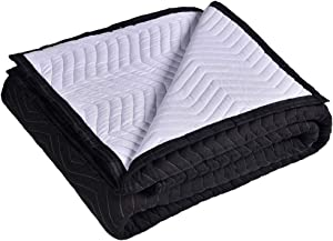 """SOMIDE Moving & Packing Blankets, 72"""" x 80"""", Washable, Multi-Purpose for Pet Supplies, Sound Barrier, Hunting and Outdoor"""