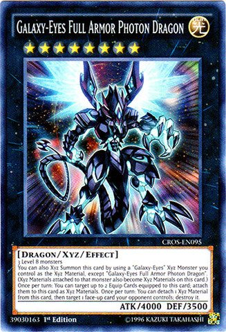 (Yu-Gi-Oh! - Galaxy-Eyes Full Armor Photon Dragon (CROS-EN095) - Crossed Souls - 1st Edition - Super)