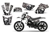 Checkered Skull-AMRRACING MX Graphics decal kit