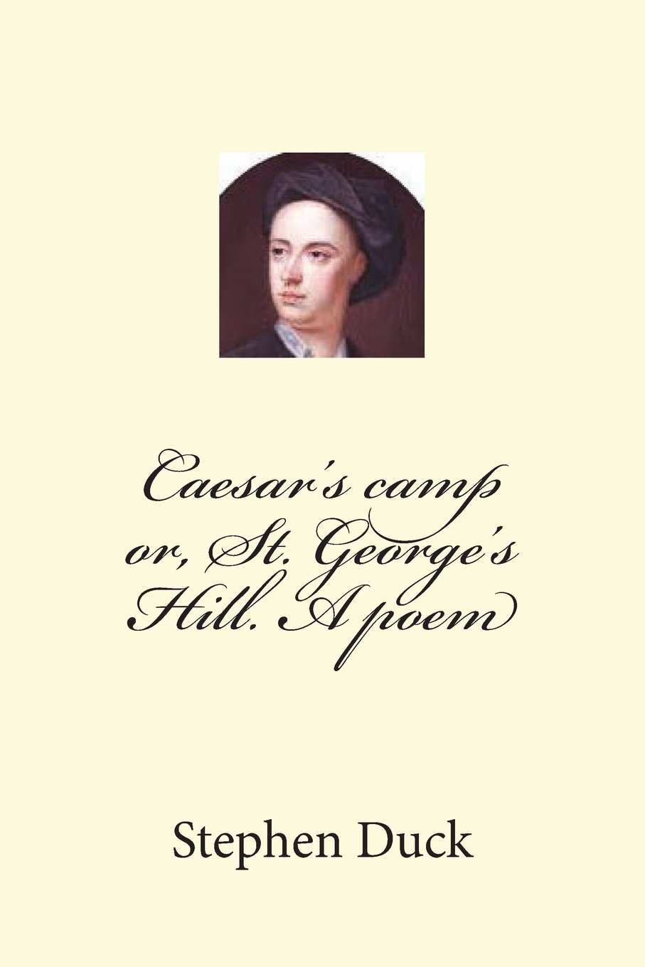 Download Caesar's camp or, St. George's Hill. A poem ebook