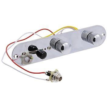 Rocket plata arnés de cable cargado placa de control 3Interruptor manera Para