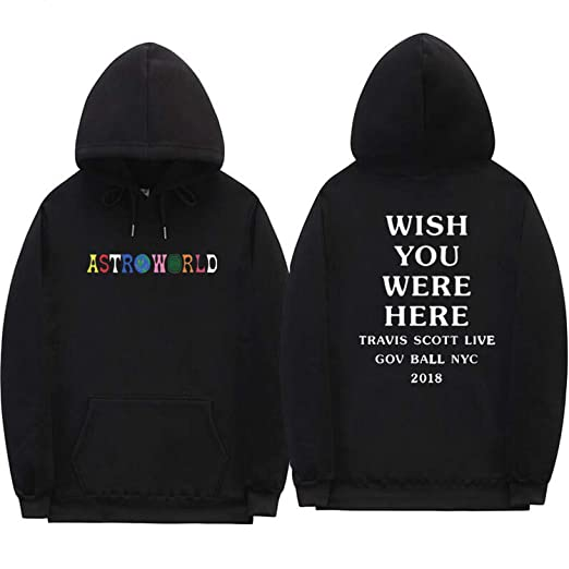 57f313e6ade Travis Scott Astroworld Hoodies Letter Print Hoodie Streetwear Man and  Woman Pullover Sweatshirt