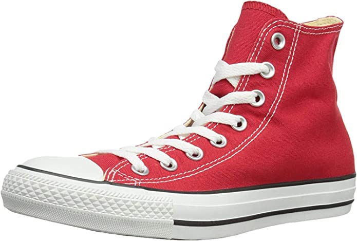 Converse Chucks (Chuck Taylor) All Star High Top Unisex Damen Herren Rot