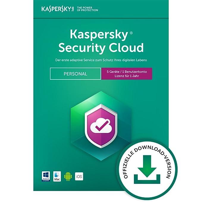 Kaspersky Security Cloud Personal Edition 5 Geräte [PC/Mac Code ...