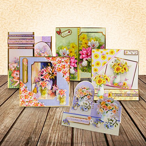 Hunkydory Floral Favourites Designer Deco-Large Collection