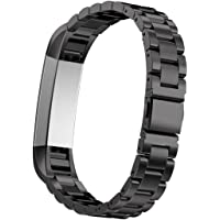 Overmal 2017 Stainless Steel Watch Band Wrist Strap for Fitbit Alta Hr Smart Watch