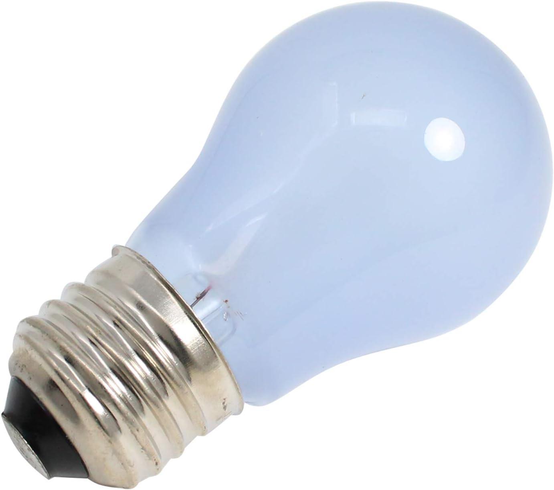Compatible with Frigidaire 241555401 Light Bulb 2-Pack 241555401 Refrigerator Light Bulb Replacement for Frigidaire FRT18G6JW8 Refrigerator