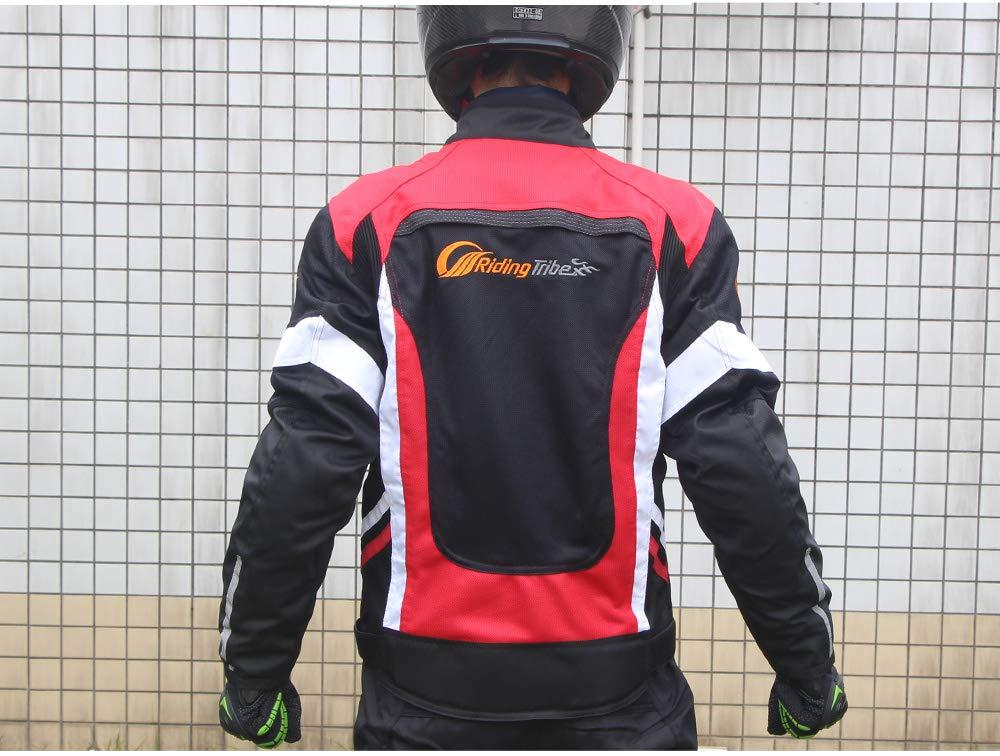 ETbotu Spring Summer Motorcycle Riding Suit Unisex Riders Racing Clothing Anti-Crash Motorbike Clothing 2XL
