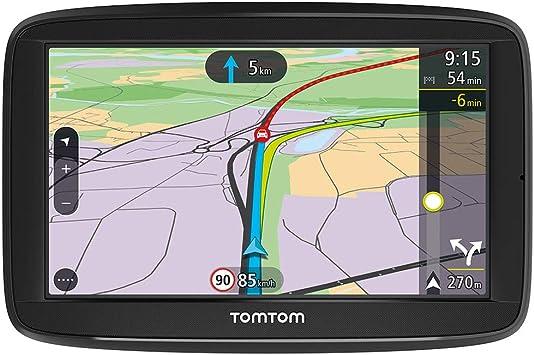 Tomtom Navigationsgerät Via 52 5 Zoll Stauvermeidung Dank Tomtom Traffic Karten Updates Europa Freisprechen Sprachsteuerung Fahrspurassistent Navigation
