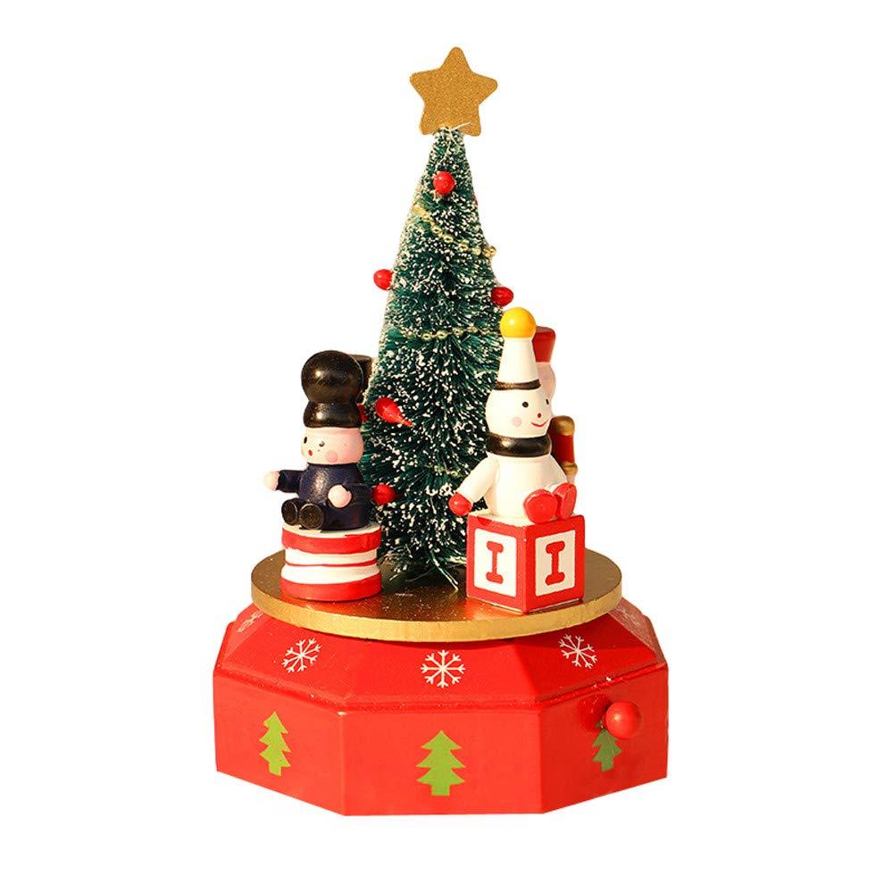 【安心発送】 certainPL 木製オルゴール クリスマス 子供 ギフト ギフト クリスマス A クリスマスデコレーション B07K342MK9 A A, 大門町:9dad3b89 --- arcego.dominiotemporario.com