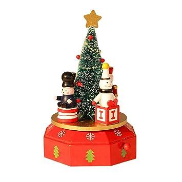Kinder Geschenke Weihnachten 2019.Amazon De Mitlfuny Weihnachten Diy Home Decor 2019 Holz Spieluhr