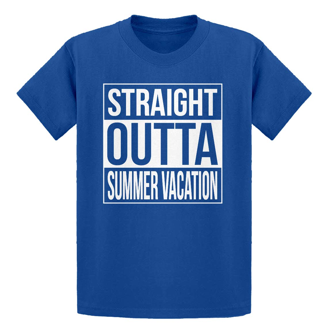 Indica Plateau Youth Straight Outta Summer Vacation Kids T-Shirt