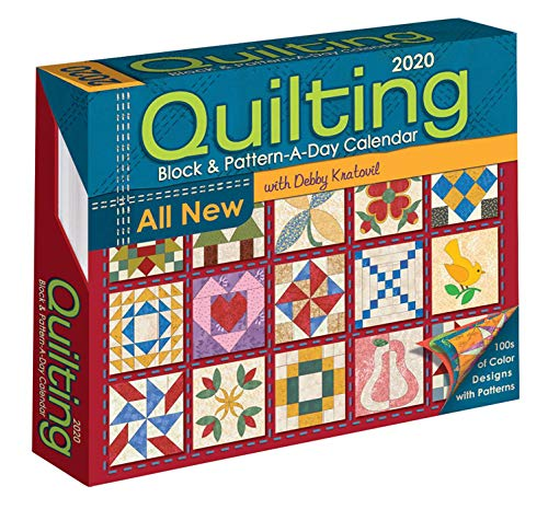 - Quilting Block and Pattern-a-Day 2020 Calendar