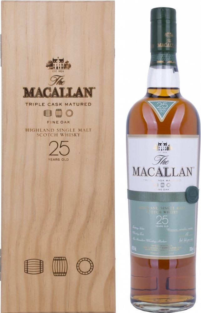 シングルモルト ウイスキー ザ マッカラン 25年ファインオーク [イギリス 700ml ] B001GLKC6O
