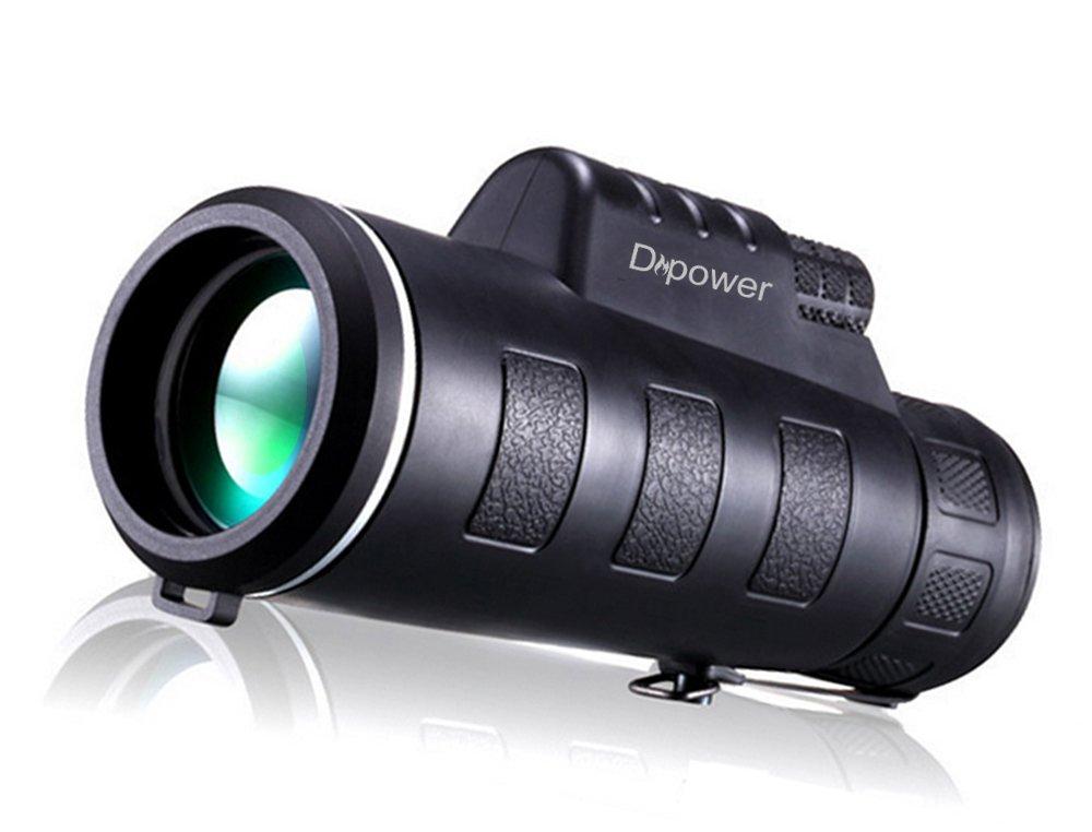 Monocular telescope dual focus hd night vision optics