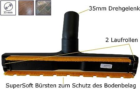 Cepillo universal para muebles de 32 mm para tubos de aspiradora K/ärcher NT 30//1 Tact L NT 30//1 Tact Te H NT 30//1 Tact TE L NT 30//1 Tact Te M NT 40//1 Ap L NT 40//1 Tact TE L