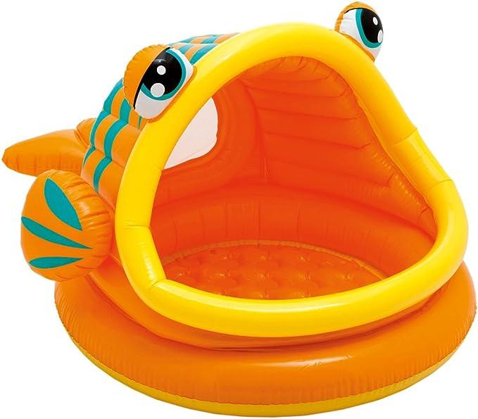 Intex 57109NP - Piscina hinchable para bebe, diseño de pez, 124 x ...