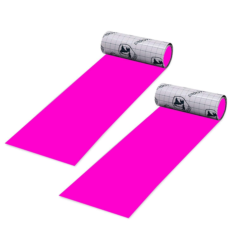 """Gear Aid Tenacious Tape Repair Tape for Fabric and Vinyl, 3"""" x 20"""" 2pk Pink"""