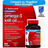 Member's Mark Extra Strength 100% Pure Omega-3 Krill Oil (pack of 6)