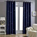 Best Curtain Panel For Kids Bedrooms - Jaoul Night Sky Twinkle Star Kids Blackout Curtains Review