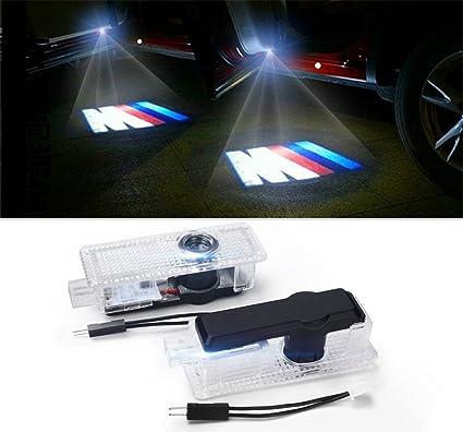 2 x LED logo 3d einstieg iluminación proyector Logo: Amazon.es ...