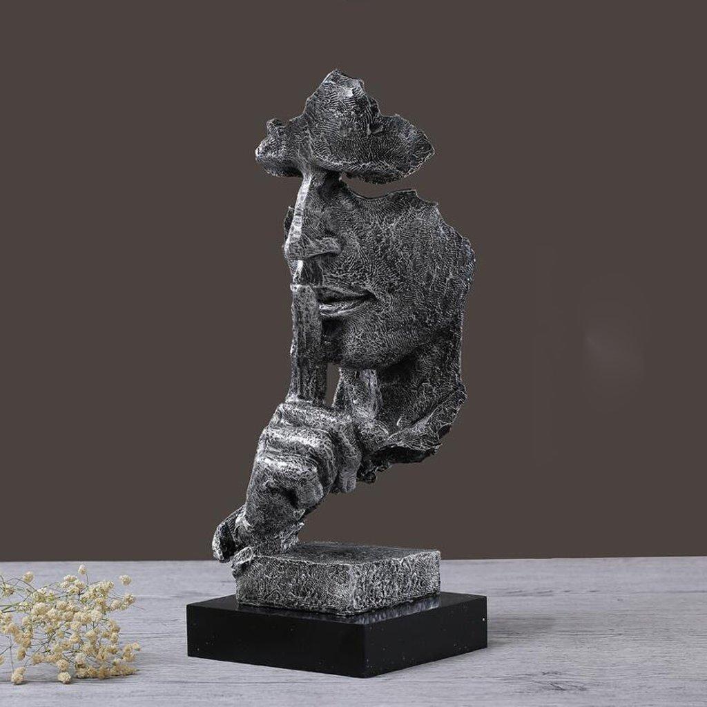 Amazon.de: Moderne Minimalistische Abstrakte Harz Skulptur Handwerk ...