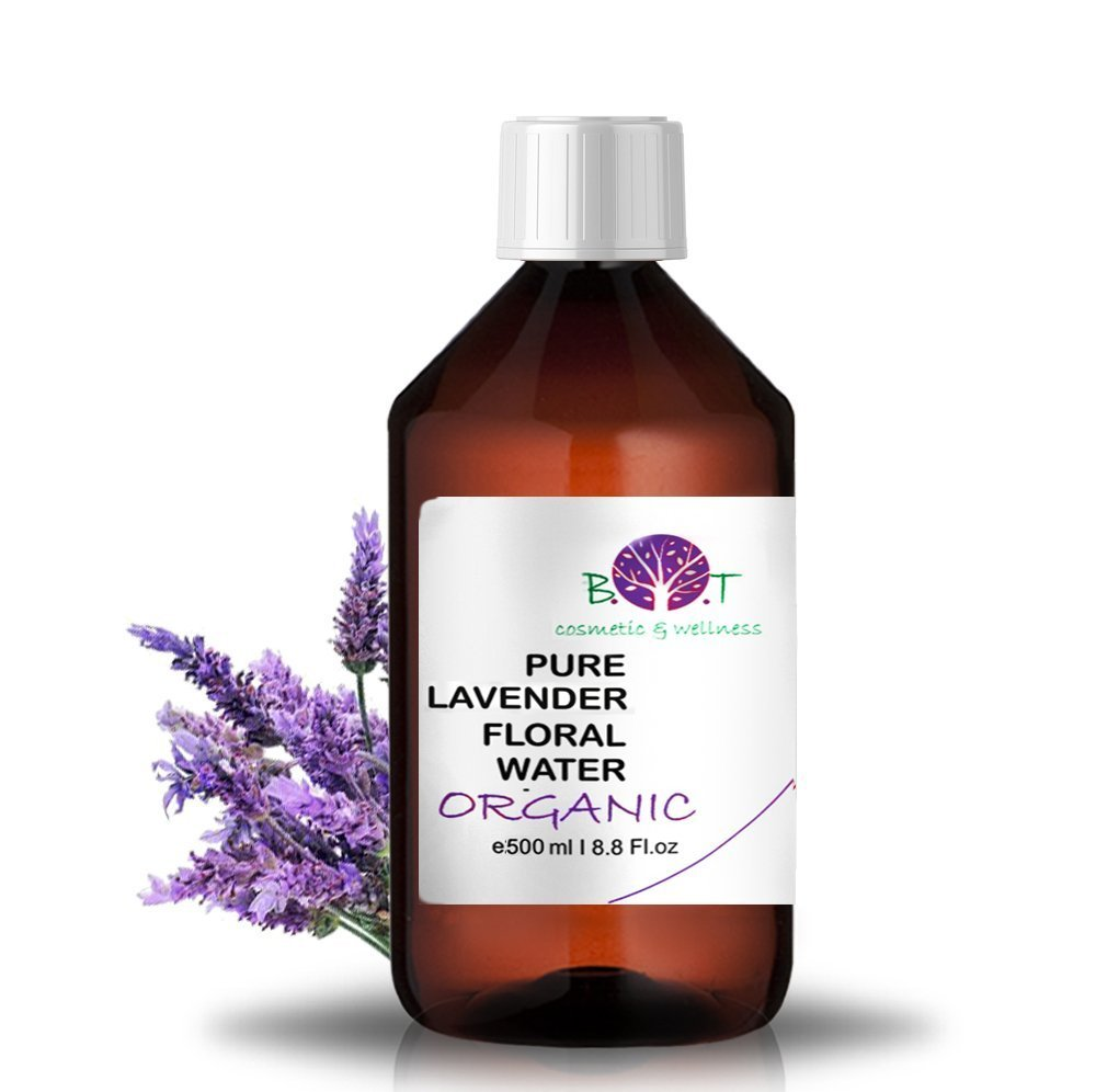 Organic Lavender Hydrosol 500 ml Floral Water 100% Pure Made in France
