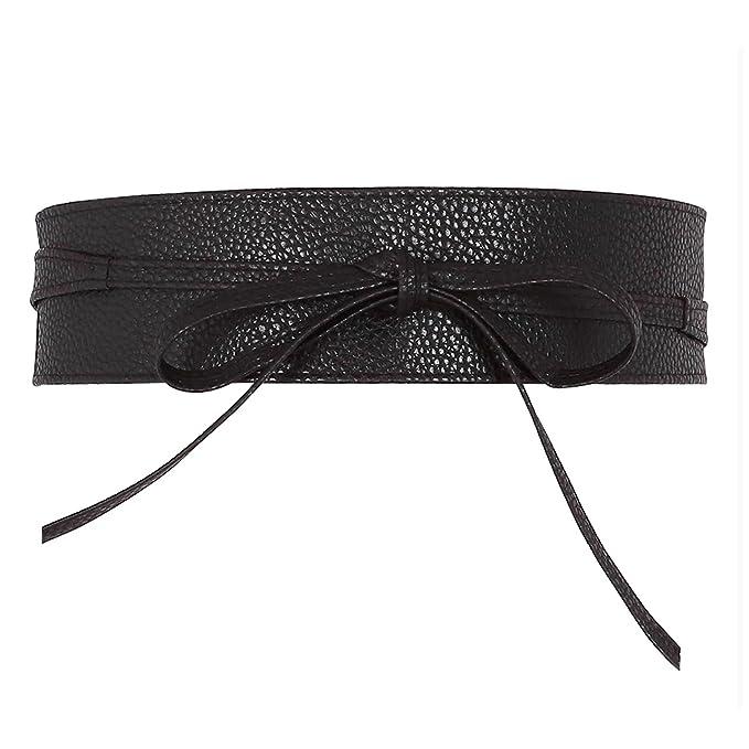 Amazon.com: Ayliss - Cinturón de piel suave para mujer: Clothing