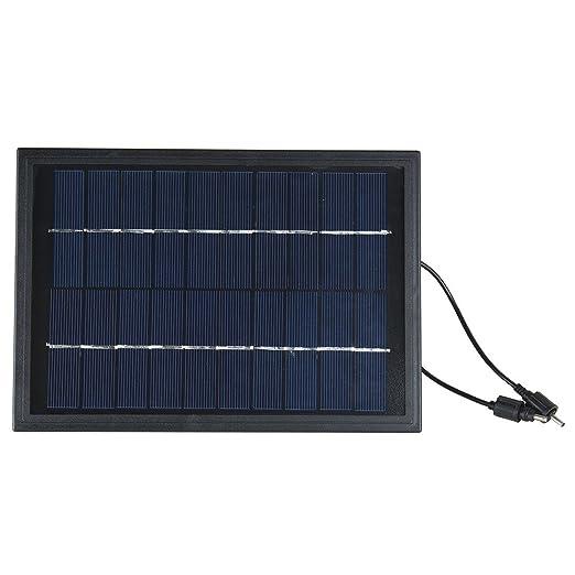 Amazon.com: eDealMax Kit Bomba de agua Grupo energía Solar Fuente Con 6led Spotlight Jardín Piscina Estanque: Home & Kitchen