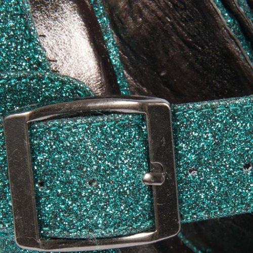 Footwear Sensation - punta abierta de sintético mujer verde - verde