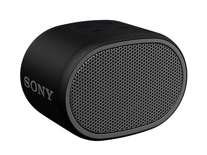 Amazon.com  Sony XB01 Bluetooth Compact Portable Speaker Black (SRSXB01 B)   Electronics 6977ca64bc44d